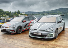 Volkswagen Golf, due one-off al Wörthersee