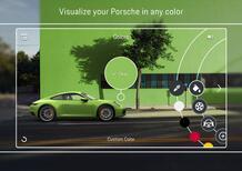 Porsche 911, arriva il configuratore con realtà aumentata