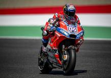 Con le MotoGP al Mugello: dai 355 km/h si frena con 1,5 g