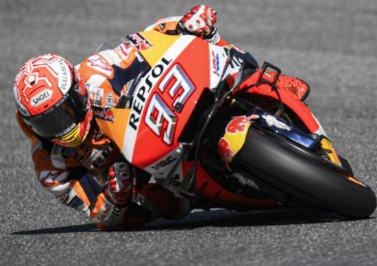 MotoGP 2019. Marquez è il più veloce nelle FP1