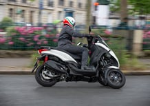 Piaggio MP3 300 HPE Sport, TEST