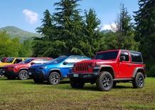 Aggiornamenti gamma Jeep Italia: Gladiator tra 2 anni, PHEV a breve, nuove Trailhawk subito