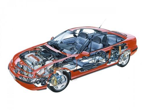 Opel Calibra, la coupé che piaceva anche ai papà (7)