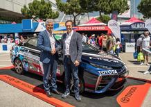 Toyota e Eni insieme per l'alimentazione ad idrogeno