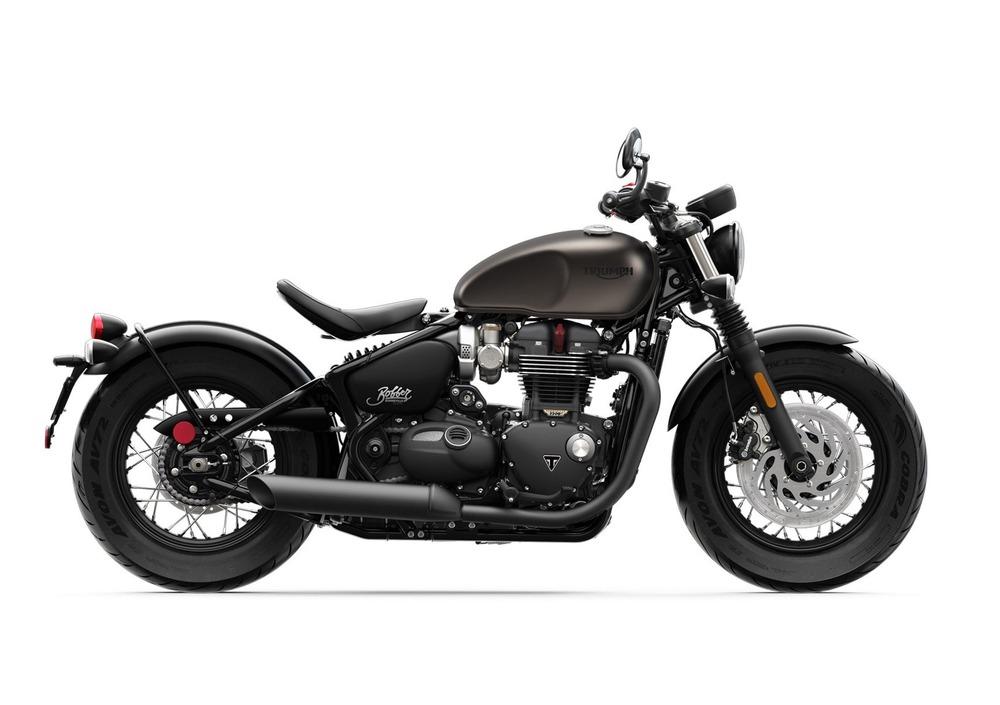 Triumph Bonneville Bobber Black 1200 (2018 - 20)