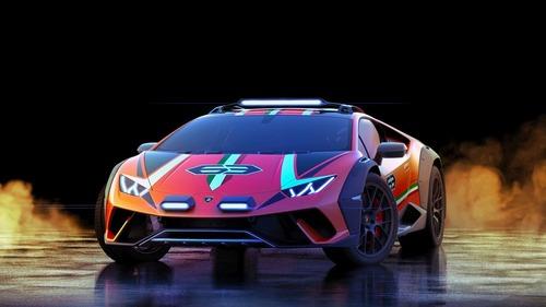 Lamborghini Huracan Sterrato, supercar da offroad (5)