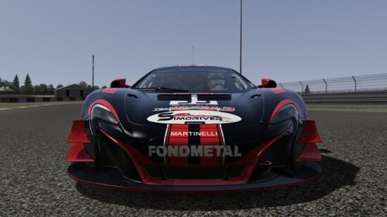 La livrea Team Racing ON3 realizzata su Assetto Corsa dedicata proprio alla McLaren 650S GT3