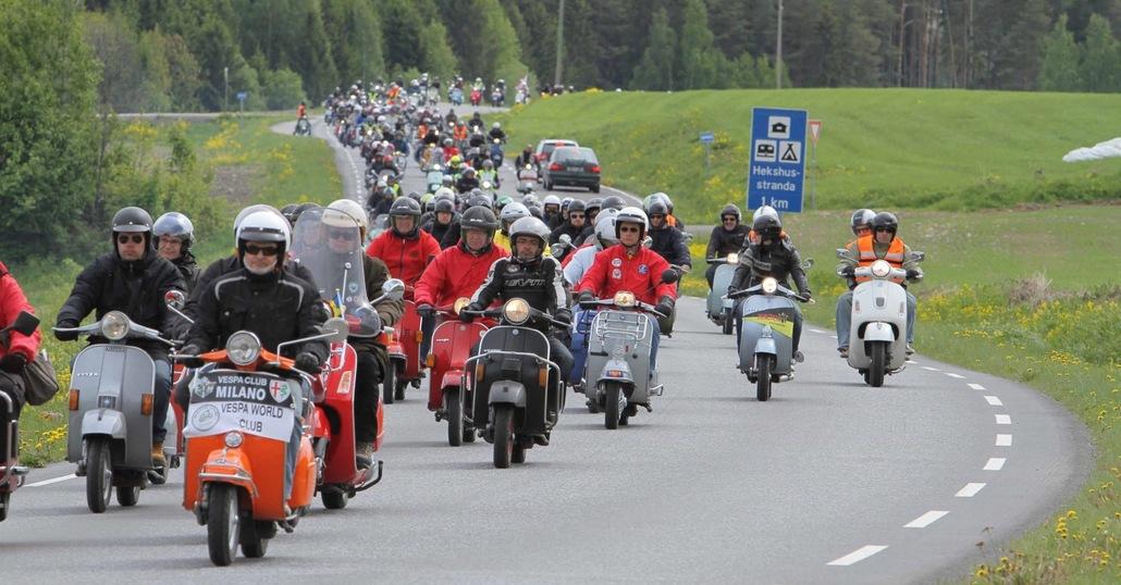 Vespa World Days: in Ungheria il raduno mondiale