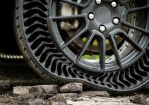 Michelin Uptis: ecco la gomma senza aria e senza manutenzione che sarà in vendita dal 2024
