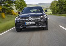 Mercedes GLC 2019, Suv e Coupé anche in off road
