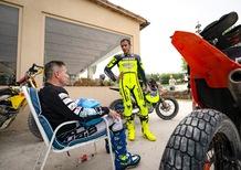 Nicola Dutto al Ranch con Valentino Rossi!
