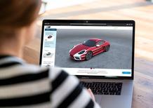 Porsche: una piattaforma online per creare la grafica su misura