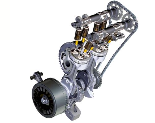 Motori bicilindrici paralleli: guerra alle vibrazioni (8)