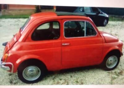 500 L d'epoca del 1971 a Roma