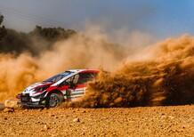 WRC 2019 Italia di Sardegna. Momentum Latvala