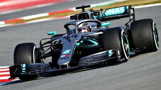 Lewis Hamilton. GP Barcellona 2019