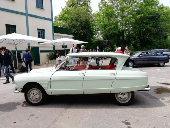 La piccola Citroën Ami 6