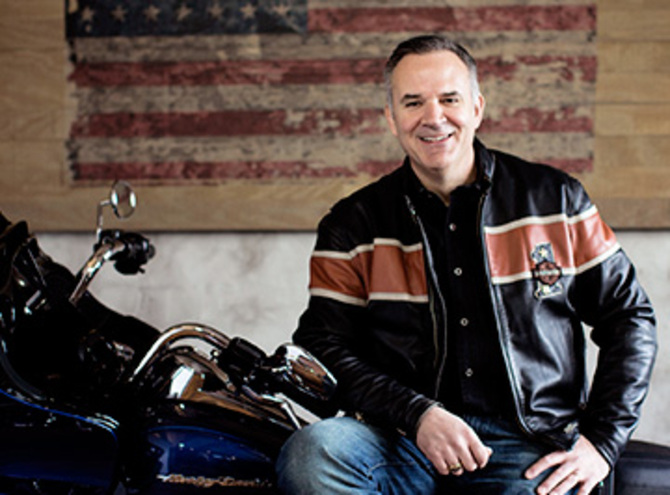 Matt Levatich, CEO e presidente Harley-Davidson