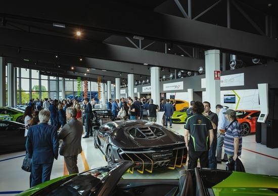 Lamborghini e MuDeTec, il museo delle tecnologie per andare avanti senza scordarsi il passato