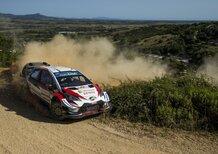 WRC 2019 Italia… Effetto Cuore Sardegna, Stile Tanak e Toyoda
