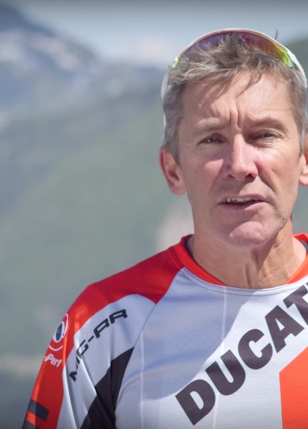 Bayliss torna in sella a una Ducati... eBike!