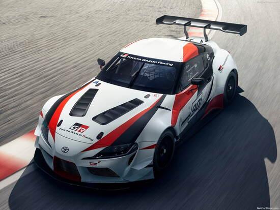 Il concept della Supra pensata per le competizioni in GT3