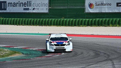 Peugeot 308 TCR, debutto a Adria (3)