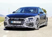 Audi A5 Sportback, le foto spia