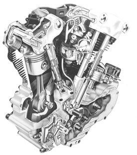Il famoso motore Knucklehead