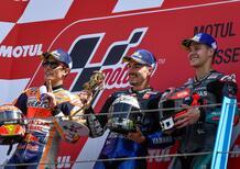 MotoGP 2019 ad Assen, le dichiarazioni dei primi tre