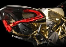 MV Agusta Dragster RC Shining Gold. Oro puro