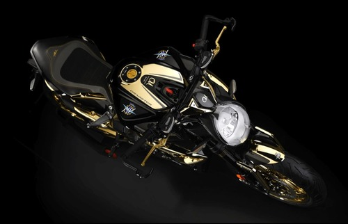 MV Agusta Dragster RC Shining Gold. Oro puro (4)