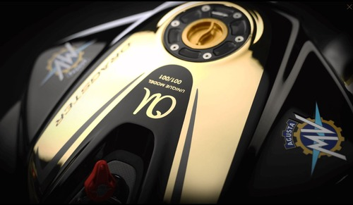 MV Agusta Dragster RC Shining Gold. Oro puro (6)