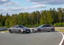 Mercedes-AMG A 45 e CLA 45, svelate le compatte