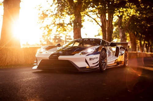 Ford GT MKII, debutto a Goodwood