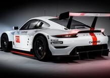 Nuova Porsche 911 RSR, Da Goodwood al WEC GT con il 4.2 aspirato [video]
