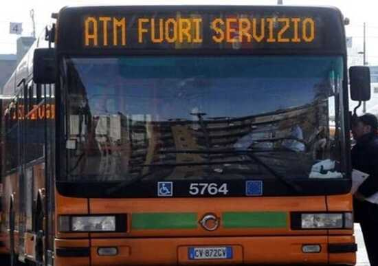 Sciopero ATM a Milano giovedì 11 luglio, info e orari