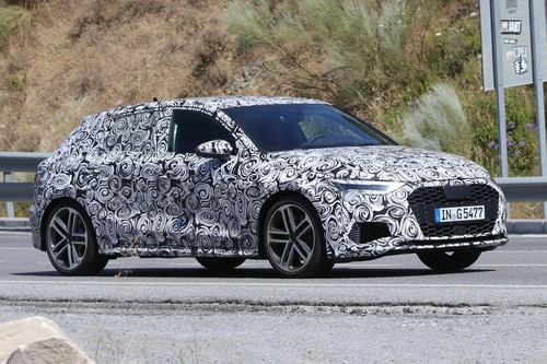 Audi S3 Sportback, le foto spia (4)