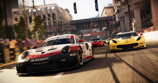 Nel nuovo GRID sono presenti tante vetture. Porsche 911 GTE o Corvette GTE? A voi la scelta!