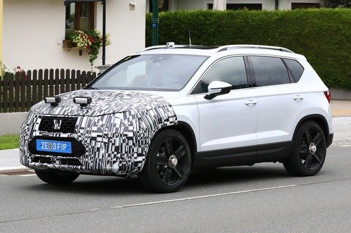 Seat Ateca restyling, le foto spia (5)