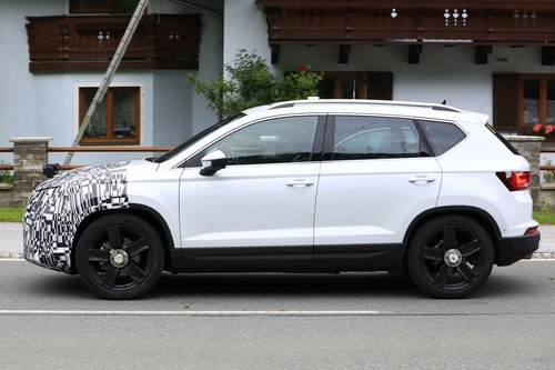 Seat Ateca restyling, le foto spia (9)