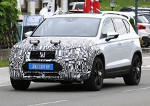 Seat Ateca restyling, le foto spia