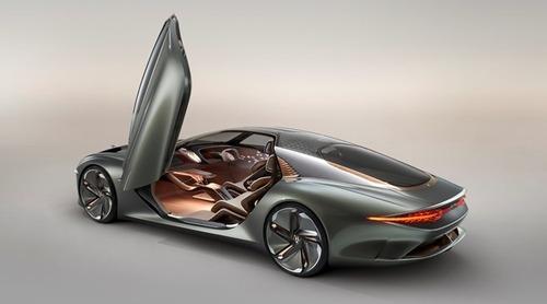 Bentley EXP 100 GT: prototipo elettrico e autonomo di coupé top anni Trenta (4)