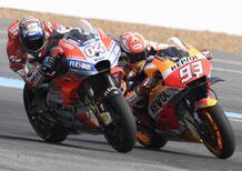 La classifica, al giro di boa della MotoGP