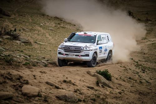 """Silk Way Rally 2019-4. L'Anello di Ulan Bator. Sam """"KTM"""" Sunderland e il solito Al """"Toyota"""" Attiyah (3)"""