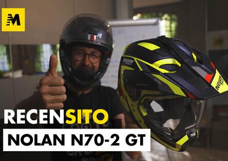 Nolan N70-2 GT e N70-2 X. Caschi crossover. Recensito