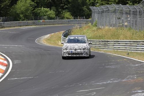 Volkswagen Golf GTI, le foto spia al Nürburgring (6)