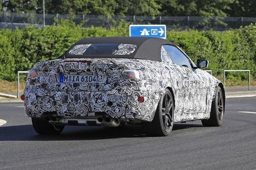 BMW M4 Cabrio: nuovo look e non solo... [Foto spia] (8)
