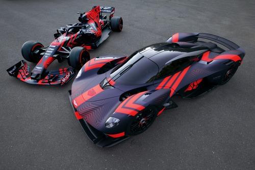 Aston Martin Valkyrie: eccola in livrea Red Bull (5)