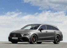 Mercedes-AMG CLA 45 S: 421 CV anche per la Shooting Brake
